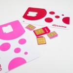 MVNOで使うSIMカードの色を確認してみよう!赤色?ピンク色?